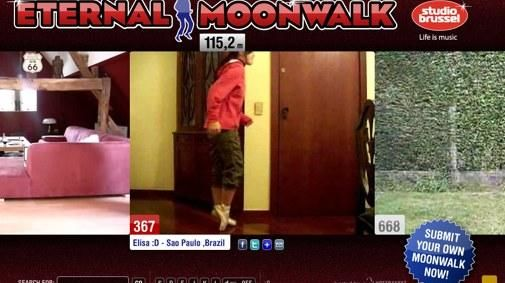 Eerbetoon Michael Jackson: Eternal Moonwalk