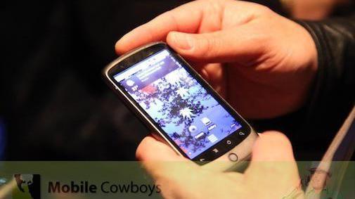 Eerste (korte) indruk van de Nexus One
