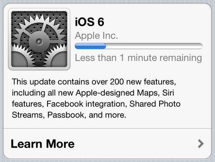 Eerste problemen met iOS 6