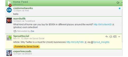 Eerste Twitter In-Stream Promoted Tweets
