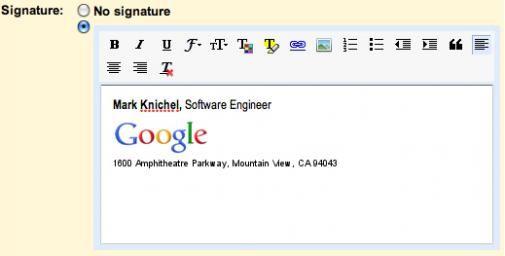Eindelijk custom e-mail signatures toevoegen in Gmail