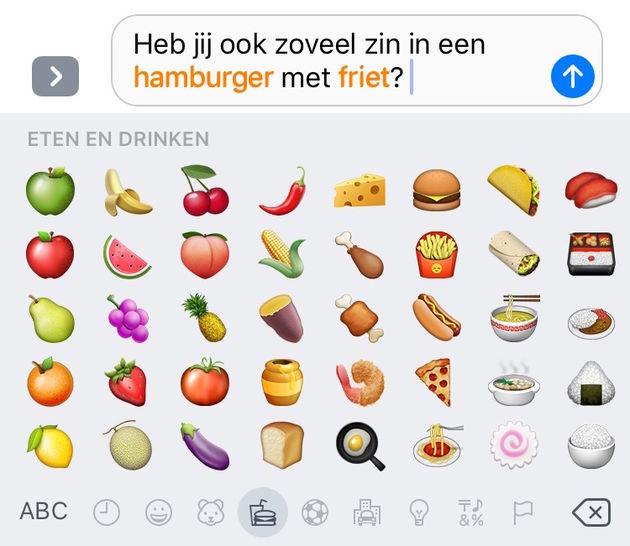 emoji-suggesties