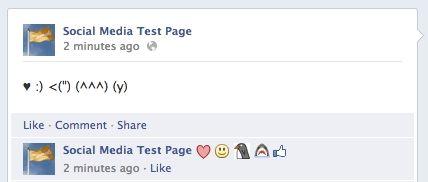 Emoticons nu ook zichtbaar in reacties op Facebook