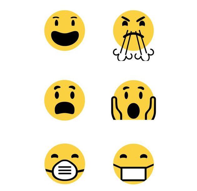 emoticons veranderingen windows10