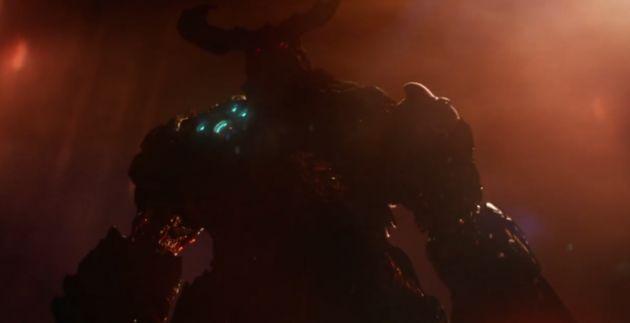 En, boem, daar is Doom!