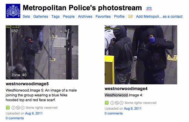 Engelse politie gebruikt Flickr om relschoppers te identificeren