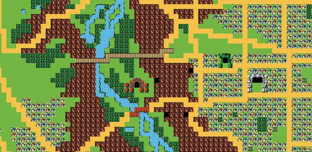 Engelse stad niet op Google maar op Zelda maps