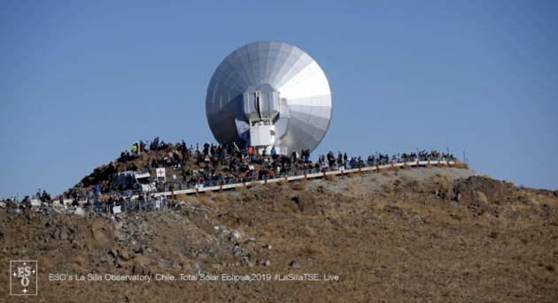 European Southern Observatory (ESO) Live Stream