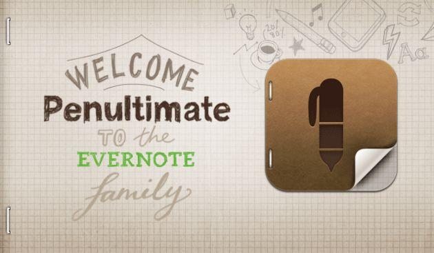 Evernote koopt Penultimate
