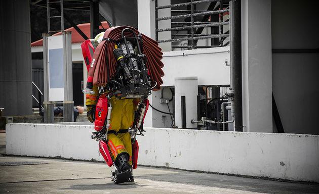 exoskeleton brandweer