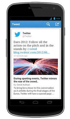 'Expanded tweets' in update Twitter-app Android en iOS