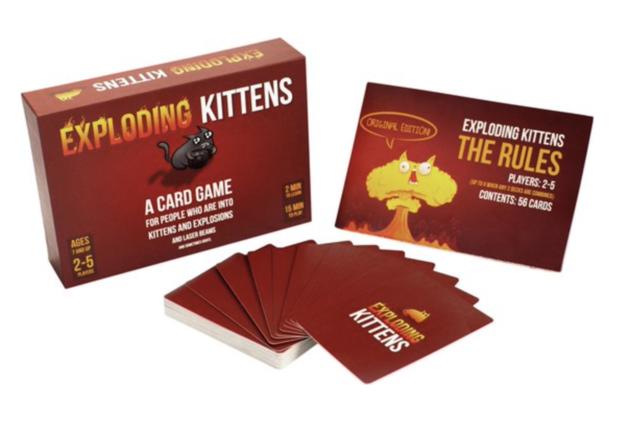 Exploding Kittens Kickstarter