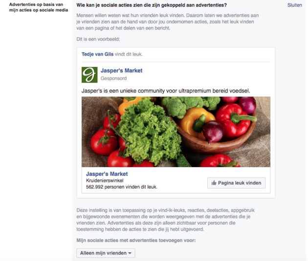 facebook-advertentie