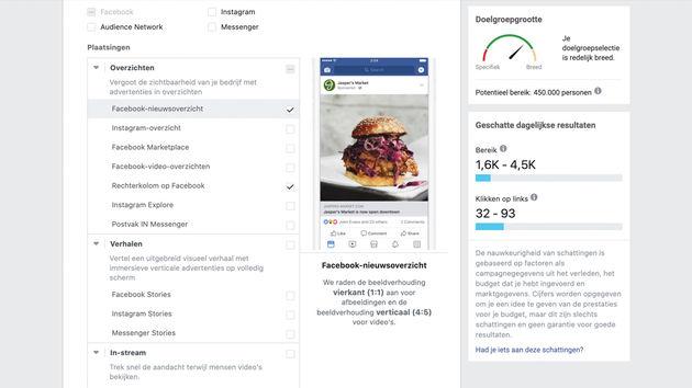 Facebook-advertenties-optimaliseren-plaatsing