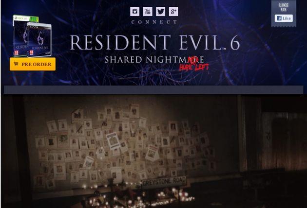 Facebook-app Shared Nightmare als promotie voor Resident Evil 6