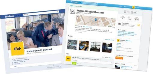 facebook foursquare