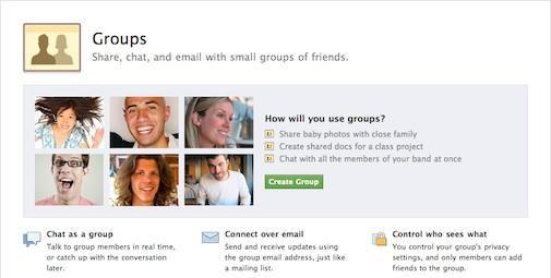 Facebook groepen is wat Google Wave had kunnen zijn