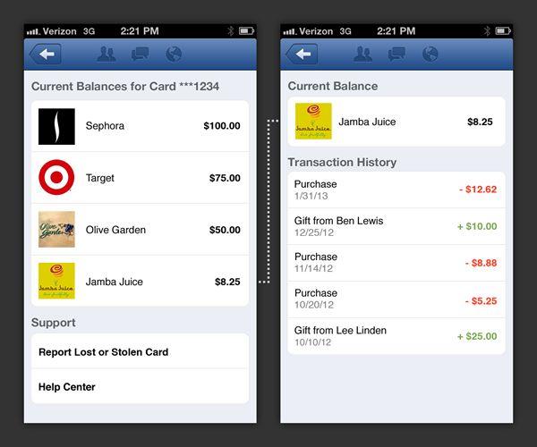 Facebook introduceert de Facebook Card in de VS