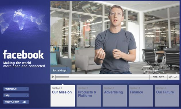 Facebook IPO Roadshow [Video]