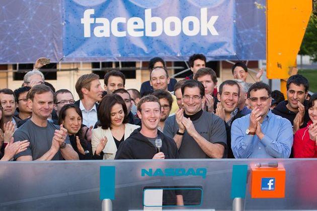 Facebook is naar de beurs, Mark Zuckerberg 19 miljard rijker