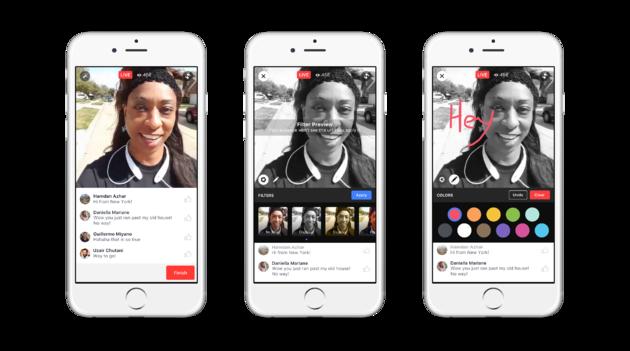 Facebook live video's gepersonaliseerd DutchCowboys