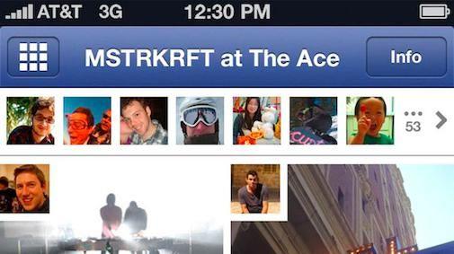 Facebook Mobile Photo (killer) App zit er aan te komen