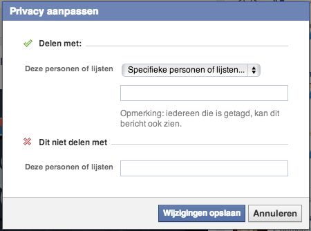 Facebook past standaard privacyinstellingen van nieuwe gebruikers aan