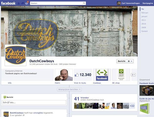 Facebook Timeline voor Brand Pages: Een eerste overzicht