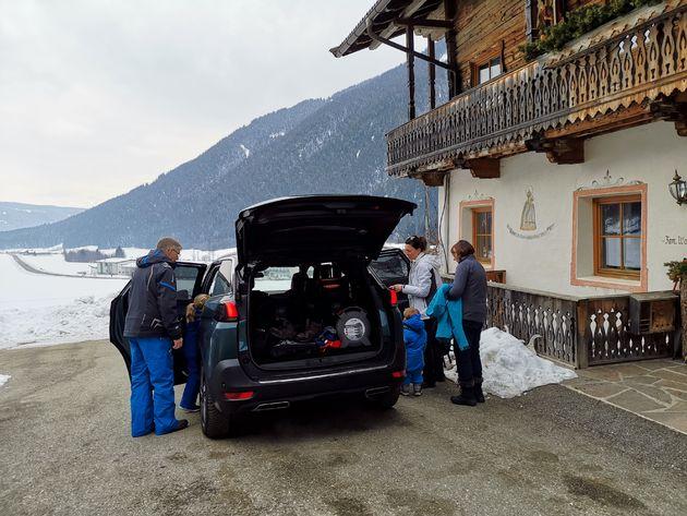 Familie auto Peugeot 5008
