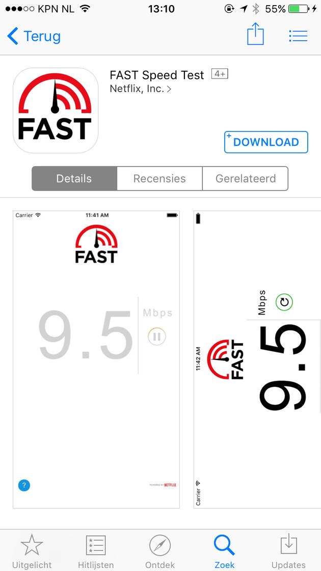 speedtest kpn nl
