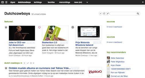 Feedly.com liefde op het eerste gezicht