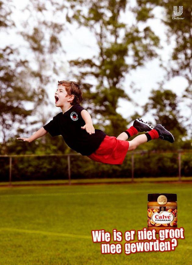 'Flying dutchman' Robin van Persie bezorgt Calvé extra reclame