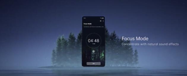 Focus mode Color OS7