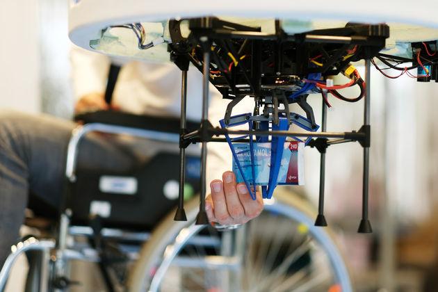 Foto drone en medicijn- Bram Saeys