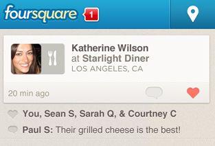Foursquare app krijgt een makeover