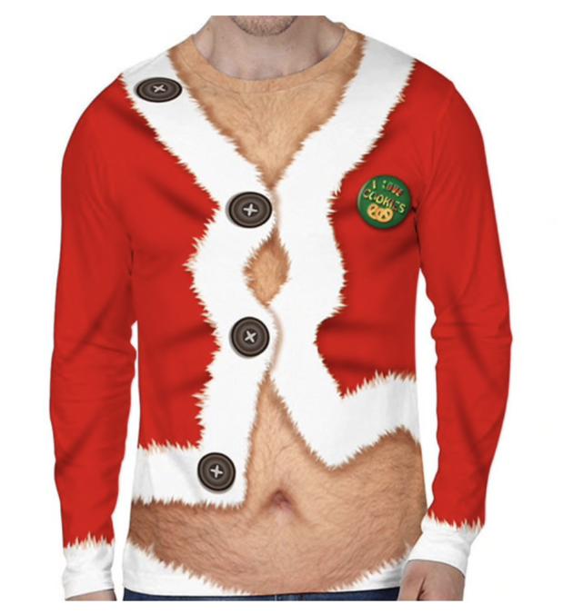 foute kersttrui kerstman
