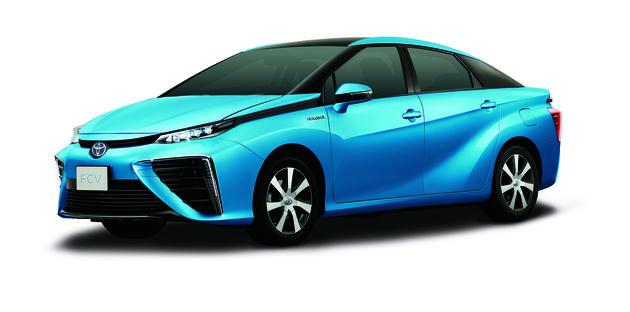 Fuel Cell auto op waterstof van Toyota klaar voor productie