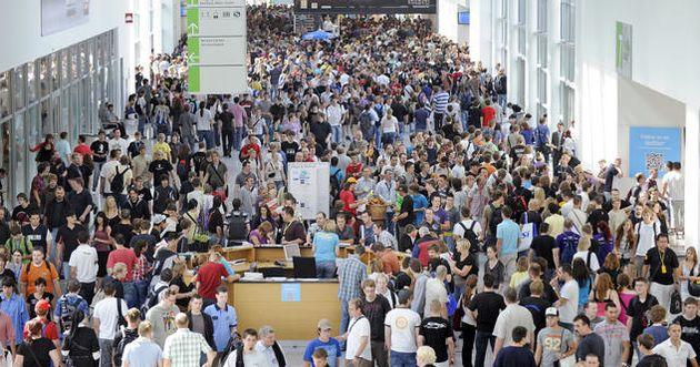 Gamescom trekt 275.000 bezoekers,rept niet over overmatige drukte zaterdag