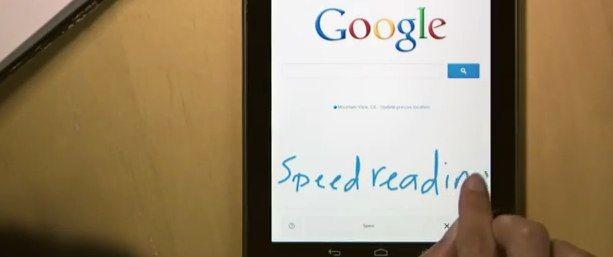 Gebruik je handschrift om te zoeken met Google Handwrite
