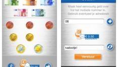 Geld overmaken met je iPhone via CashMS