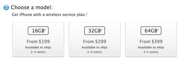 Geschatte verzendtijd nieuwe iPhone 5 orders zakt naar 3-4 weken