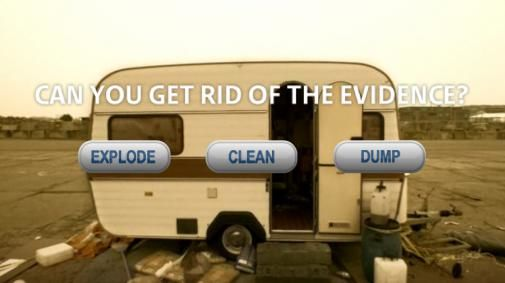 Get rid of the evidence
