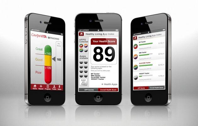 Gezondheid en fitness apps in de lift