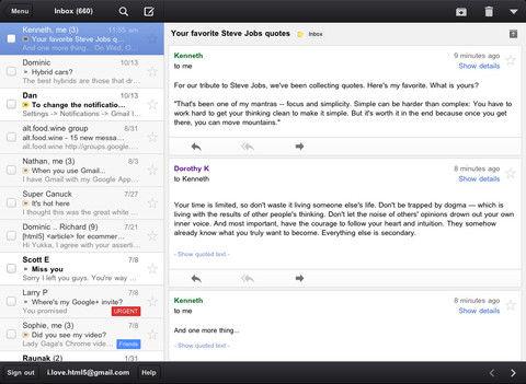 Gmail App voor iOS is weer beschikbaar