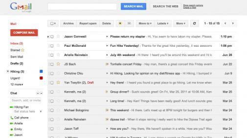 Gmail en Calender krijgen een make over
