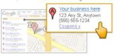 Google Business foto's voor Maps