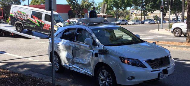 google-car-crash