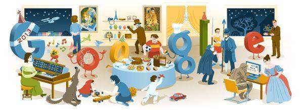 Google Doodle 2012