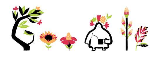 Google Doodle: Eerste dag van de lente!