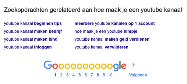 google-gerelateerd
